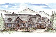 Home Plan - Craftsman Exterior - Front Elevation Plan #54-376