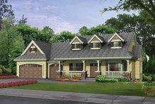 Home Plan - Craftsman Exterior - Front Elevation Plan #132-343