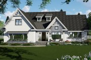 Farmhouse Style House Plan - 3 Beds 2.5 Baths 2148 Sq/Ft Plan #51-1142 Exterior - Front Elevation