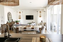 House Plan Design - Modern Interior - Dining Room Plan #23-2638
