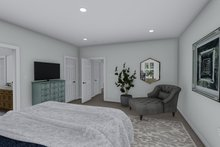House Plan Design - Traditional Interior - Master Bedroom Plan #1060-100