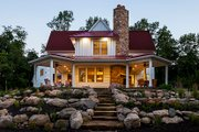 Country Style House Plan - 3 Beds 4 Baths 3347 Sq/Ft Plan #928-290 Exterior - Rear Elevation