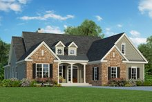 Architectural House Design - Country Exterior - Front Elevation Plan #929-674