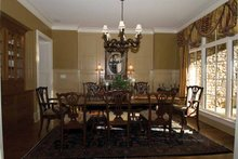 House Plan Design - Craftsman Interior - Dining Room Plan #54-362