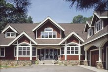 Country Exterior - Front Elevation Plan #320-993
