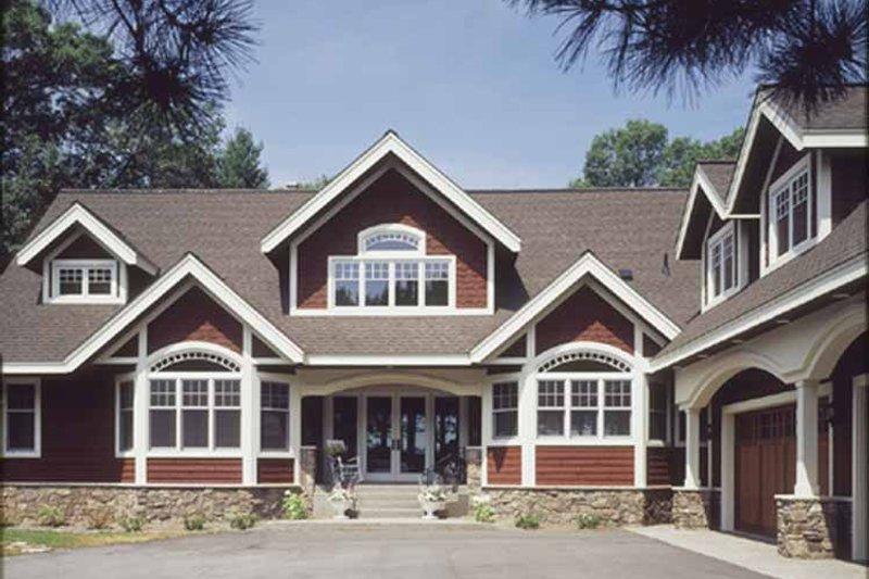 Country Exterior - Front Elevation Plan #320-993 - Houseplans.com