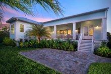 House Plan Design - Cottage Exterior - Rear Elevation Plan #938-87
