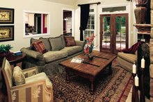 Architectural House Design - Traditional Interior - Family Room Plan #929-605