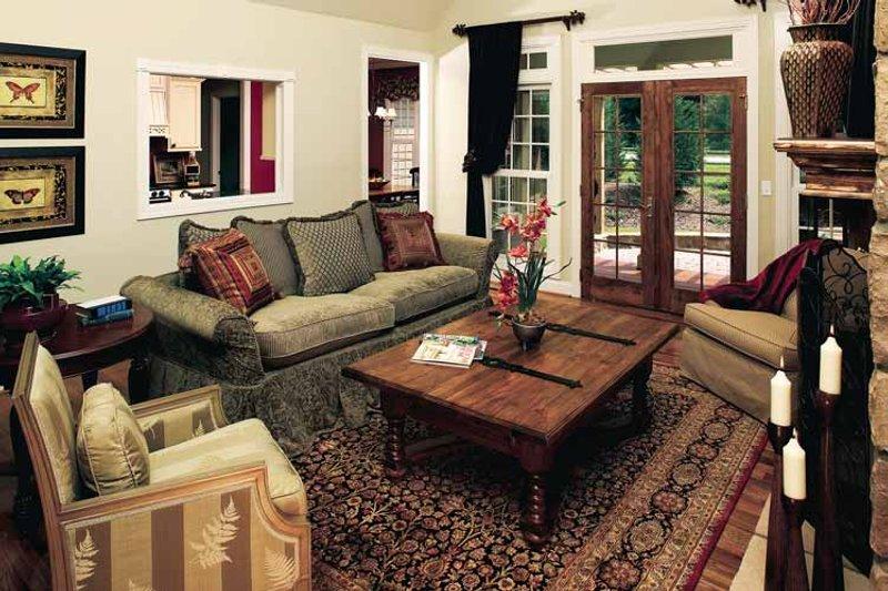 Traditional Interior - Family Room Plan #929-605 - Houseplans.com