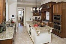 Dream House Plan - Country Interior - Kitchen Plan #929-678