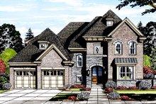 House Plan Design - European Exterior - Front Elevation Plan #46-857