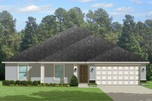 Traditional Exterior - Front Elevation Plan #1058-121