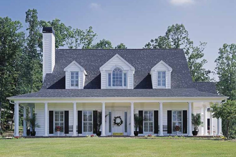 Country Exterior - Front Elevation Plan #929-96 - Houseplans.com