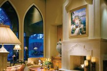 Home Plan - Mediterranean Interior - Family Room Plan #930-98