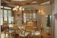 Colonial Interior - Dining Room Plan #119-392