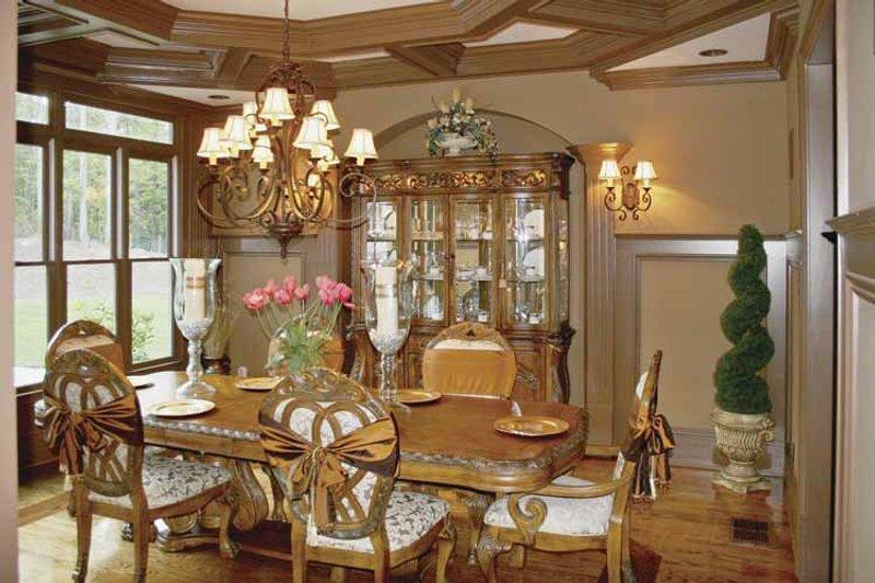 Colonial Interior - Dining Room Plan #119-392 - Houseplans.com