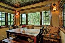 Cabin Interior - Dining Room Plan #942-25