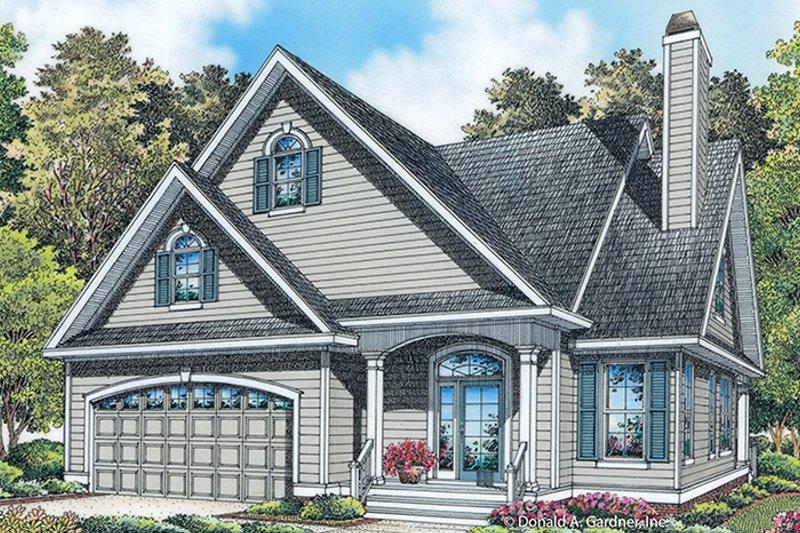 Colonial Exterior - Front Elevation Plan #929-989 - Houseplans.com