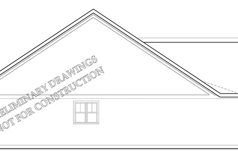 Traditional Exterior - Other Elevation Plan #927-960 - Houseplans.com