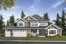 Craftsman Exterior - Front Elevation Plan #132-394