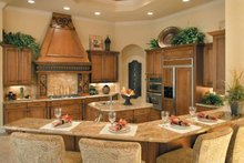 Mediterranean Interior - Kitchen Plan #930-328