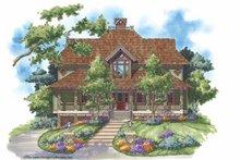 Craftsman Exterior - Front Elevation Plan #930-138