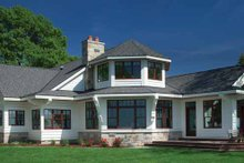 Country Exterior - Rear Elevation Plan #928-233