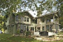 House Plan Design - Craftsman Exterior - Rear Elevation Plan #928-15