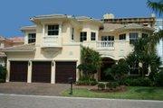 Mediterranean Style House Plan - 6 Beds 5.5 Baths 4713 Sq/Ft Plan #420-157 Photo