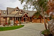 Craftsman Style House Plan - 3 Beds 2.5 Baths 3780 Sq/Ft Plan #132-207 Exterior - Front Elevation