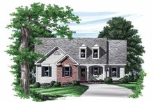 House Plan Design - Country Exterior - Front Elevation Plan #927-549