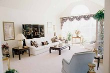 Architectural House Design - European Interior - Family Room Plan #314-227