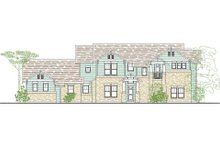 Craftsman Exterior - Front Elevation Plan #80-205