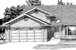 Traditional Exterior - Front Elevation Plan #47-239