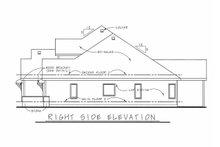 Architectural House Design - Craftsman Exterior - Other Elevation Plan #20-2243