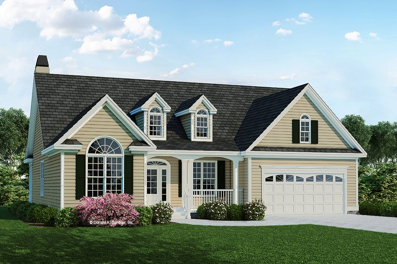 House Design - Country Exterior - Front Elevation Plan #929-519