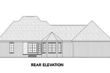 Dream House Plan - Southern Exterior - Rear Elevation Plan #21-302