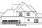 European Style House Plan - 4 Beds 5 Baths 4360 Sq/Ft Plan #17-577 Exterior - Other Elevation