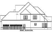 European Style House Plan - 4 Beds 5 Baths 4360 Sq/Ft Plan #17-577