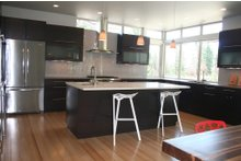 Modern Interior - Kitchen Plan #892-8