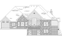Dream House Plan - European Exterior - Rear Elevation Plan #5-455