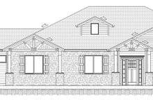 Craftsman Exterior - Front Elevation Plan #1077-2
