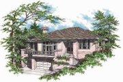 Mediterranean Style House Plan - 4 Beds 2.5 Baths 2542 Sq/Ft Plan #48-128