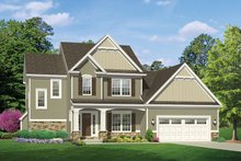 House Design - Traditional Exterior - Front Elevation Plan #1010-118