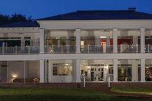 Dream House Plan - Classical Exterior - Rear Elevation Plan #1058-83