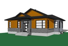 House Plan Design - Ranch Exterior - Front Elevation Plan #23-2620