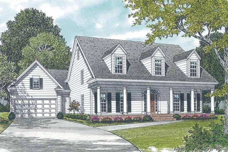 Classical Exterior - Front Elevation Plan #453-272 - Houseplans.com