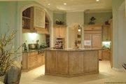Mediterranean Style House Plan - 3 Beds 3 Baths 3674 Sq/Ft Plan #930-415 Interior - Kitchen