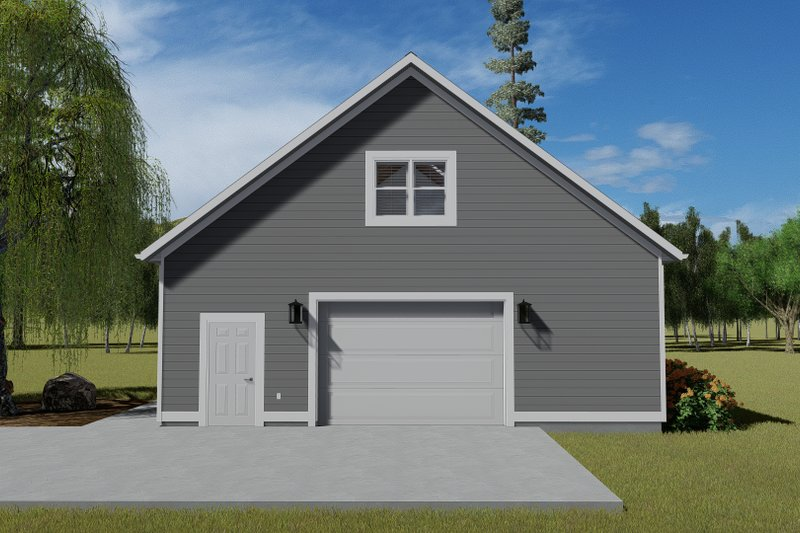 Dream House Plan - Traditional Exterior - Front Elevation Plan #1060-86