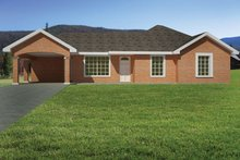 Home Plan - Ranch Exterior - Front Elevation Plan #1061-30